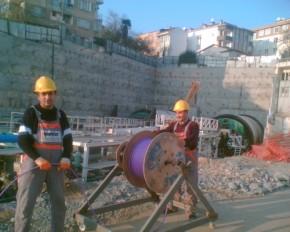 Marmaray Fiber Kablolama İşleri