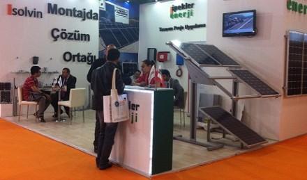 İpekler Elektrik Enerji olarak Güneş Enerjisi ve Teknolojileri Fuarı 2016'daydık.