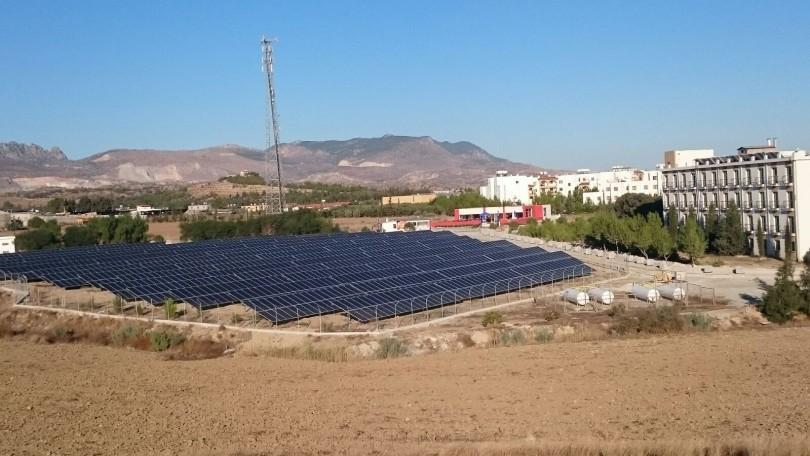 Uluslararası Kıbrıs Üniversitesi, Kıbrıs (1.3 MWp)