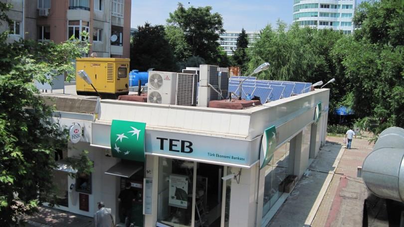 TEB(Türkiye Ekonomi Bankası), İstanbul (10kWp)
