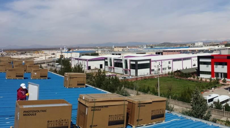 DİMER Mermer A.Ş., Diyarbakır (1MWp)